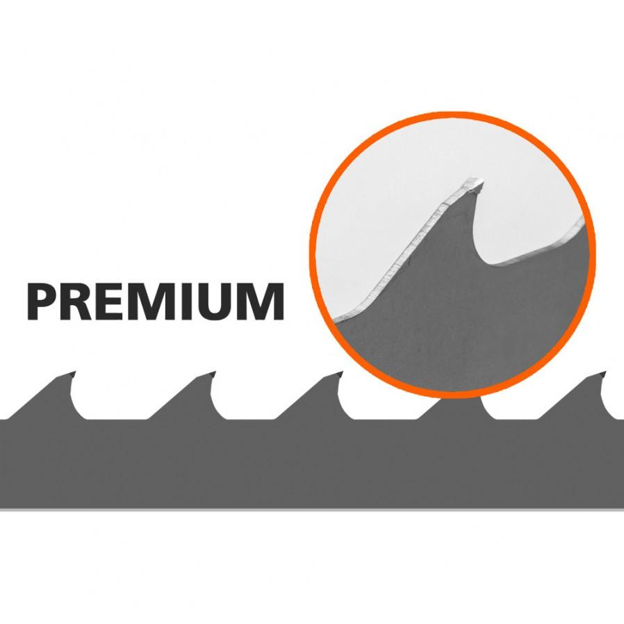 1 kpl Vannesahan terä (Premium) Logosol B1001, L: 4310 mm, W:34 mm