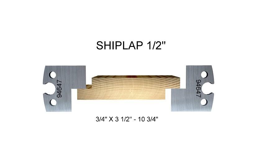 "Shiplap 1/2"""