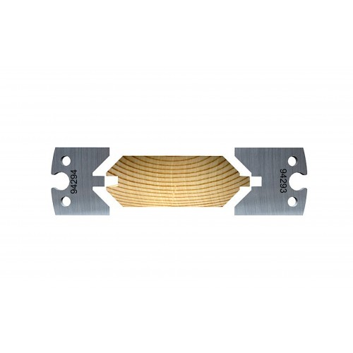 Double 45° Chamfered panel