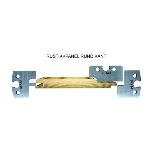 Rustic T&G casing, round edge