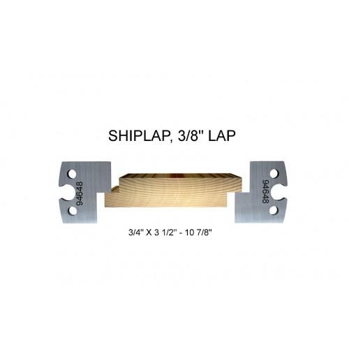 """Shiplap, 3/8"""" lap"""