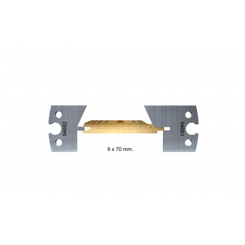 Chamfered, indoor, 9 mm